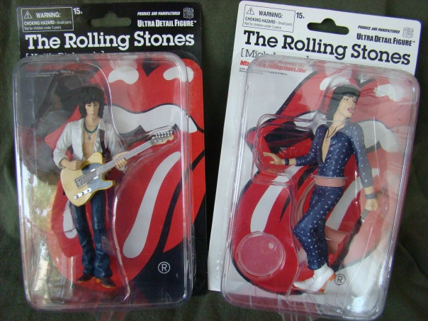 Keith Richards Mick Jagger Action Figure